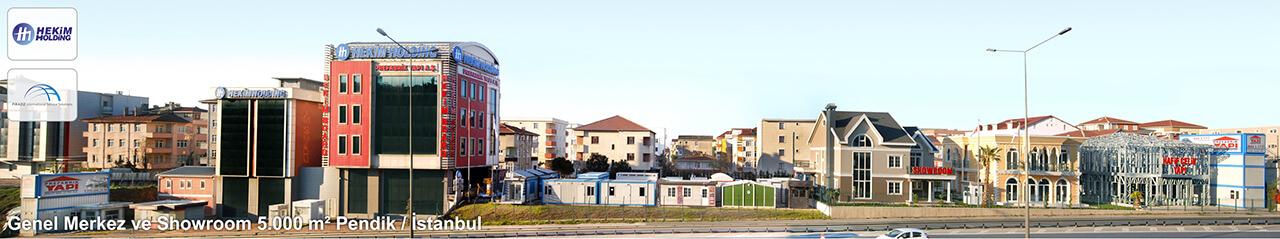 Genel Merkez ve Showroom 5.000 m2 Pendik / İstanbul